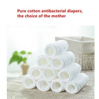 Wholesale Reusable baby Diapers Cloth Diaper Inserts piece Layer Insert Cotton Washable Baby Care Products