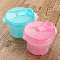 Wholesale 1 PC Portable Milk Powder Formula Dispenser Food Container Storage Feeding Box for Baby Kid Toddler