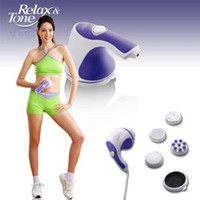 Wholesale Relax Spin Tone Body Massager Fat Reduce Remove Slim Machine Handheld Magnetic Therapy Tool Professional Body Sculptor Massager V V