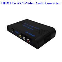 2016 HDMI à composite RCA S-vidéo convertisseur Scaler 720p 1080p avec adaptateur