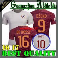 Wholesale 2016 espanha Team Player SERGIO ROMAS Francesco Totti Jersey Italy Florenzi Dzeko Jersey Italy Maillot Camiseta De cups