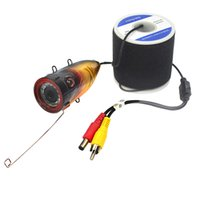 angle finder - New m m Cable Waterproof Wide Angle Color Underwater Fish Finder IR Camera W2744A