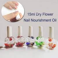Wholesale ml Dry Flower Nourishment Oil Nail Cuticle Processing Tools Nutritional nail Oil Nail Manicure Treatment