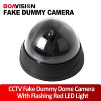 Wholesale Outdoor Indoor dome Dummy Camera Flash Ir LED Security Camera Fake CCTV Surveillance