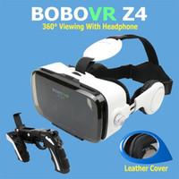 Wholesale Hot Sale Google Cardboard BOBOVR Z4 gafas realidad virtual BOBO VR For inch Smartphone Multi Function Bluetooth Gampad