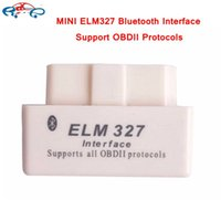 Wholesale mini elm327 V2 Super mini elm327 Bluetooth OBDii OBD2 interface Mini elm Works on Android Torque In stock