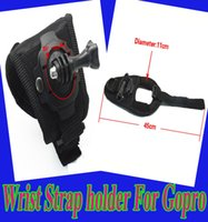 camera hand strap grip - Adjustable Degree Rotate Hand Grip Glove Mount Holder Back Palm Arm Wrist Strap for GoPro Hero for GoPro Hero Camera