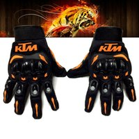 Wholesale 2016 KTM motorcycle nylon gloves hot sale full finger outdoor riding racing motorcycle bike professional sports gloves