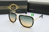 Wholesale Dita sunglasses women men oversized Square mens sun glasses brand designer oculos de sol feminino lunettes de soleil homme