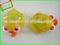 Cheap 2016 plastic squeeze yellow rubber duck craft animals eyes Novelty & Gag Toys FreeShipping