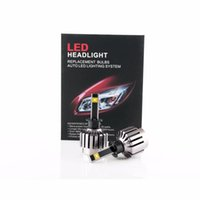 Wholesale Car Headlight Cree LED H1 H3 H4 H7 H11 HB3 HB4 Car Head Fog DRL Conversion Light No Ballast No relay