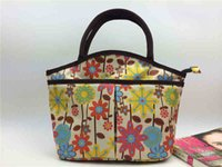 Wholesale New Flower Colorful Handbag Shopping Bags Wash Gargle Bag Special Beam Pockets Shopping Bags Large Capacity