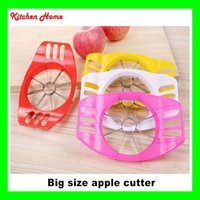 apple server tools - Big Size Apple Cutter Slicer fruit Corer fruit cutter Kitchen Tool Accessories apple Server Fruit Vegetable Tools