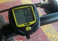 Wholesale SUNDING SD C1 quot LCD Wireless Water resistant Digital Bike Speedometer Computer x CR2032