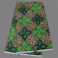 batik textiles - Most fashion African printed wax fabric batik cotton wax textile cloth for lady WF490 yards pc