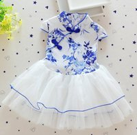 beautiful cotton products - Beautiful Floral Cheongsam Infants Hot Sale Baby Girls Dress Fashion Cotton New Product Children Clothing Dresses