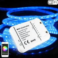 Wholesale Original Million Colors Wifi channels RGBW Led Controller Smartphone Control Music and Timer Mode Wifi Led Controller