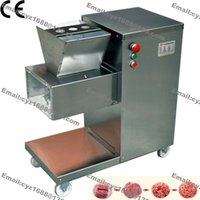Wholesale KG H mm mm Customized Blade v v Electric Heavy Duty Restaurant Meat Dicer Dicing Machine