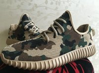Cheap 2016 new Yeezy boost 350 Camo With Box+receipt bag Kanye west yzy Yeezy Boost 350 Camo YZY Running Men's Sneaker Shoes Free Shipping
