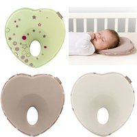 baby head support pillow - Flower Print Cushion Soft Comfortable Cotton Anti roll Baby Infant Toddler Newborn Pillow Sleep Head Positioner Support New