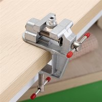 Wholesale 3 inch Aluminum Mini Small Hobby Clamp On Table Vise Tool Vice