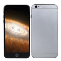 Wholesale Unlocked Goophone i6 i6s Plus Quad Core MTK6582 Android GHz GB RAM GB ROM HD MP G Network Metal Body Smartphone