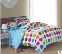 Wholesale Twin Full Queen King size cotton duvet cover bedding bag bed sack with printing red blue yellow green Endless