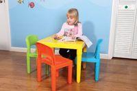 Wholesale Tutors Kids Table and Chair Set Plastic
