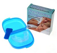 Wholesale Anti Snore Kit Mouthpiece Stop Snoring Solution Device Better Sleep Harmony Life Anti Snore Mouth Tray Set
