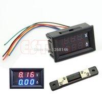 beauty amp - S111 Dual LED Digital Voltmeter Ammeter Amp Volt Meter Current Shunt DC V A For Beauty Tool