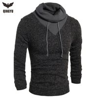 Wholesale Turtleneck Sweater Stylish Knitted Long Sleeve High Neck pullover Sweaters Men Sweater Male Sweaters Pullover Size XXL