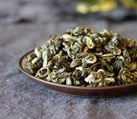 al por mayor té verde orgánico a granel-Organic Yunnan Sweet Screw Té verde de té de Biluochun Té verde de té de la dieta de la salud del aroma dulce con el embalaje al vacío a granel