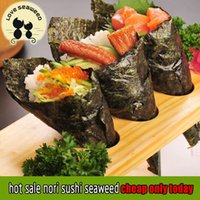 Wholesale Hot sale new sushi nori seaweed pack Delicious Secondary baking nori sushi for tea time snacks