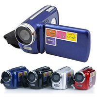 Less than 2'' hd digital camera video camcorder - 4 Colors DV139 digital video camera inch TFT LCD X Zoom MP with LED Flash Light Camcorder Mini DV Children s Chirstmas Gift Toys