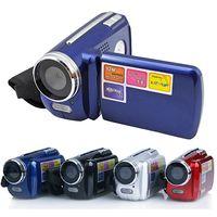 Led lumières caméra vidéo Avis-4 couleurs DV139 caméra vidéo de 1,8 pouces TFT LCD numérique 4X Zoom 1.3MP avec Chirstmas Jouets cadeaux LED Flash Light Caméscope Mini DV Enfants