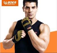 Wholesale custom sports gloves factory direct fitness gloves hand slip Half Finger riding gloves