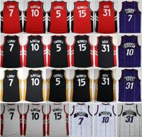 anthony shirt - Newest DeMar DeRozan Kyle Lowry Throwback Jersey Purple Red Black White Terrence Ross Anthony Bennett Shirt DeMarre Carroll