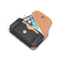 belt purse pattern - Horizontal Hip Holster Leather Clip Case For Iphone S S SE S7 S6 Edge Plus Buckle Rhinoceros Purse Buckle Pattern PU Belt Pouch
