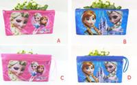 Wholesale new design popular new cartoon new cartoon frozen princess Anna Elsa pencil cases pencil bag case for kid school supplies kid gift