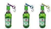 aluminium bottle beer - Dhl Free Mix Color Creative Key Bottle Opener Aluminium Alloy Key Pendants Wedding Beer Bottle Opener