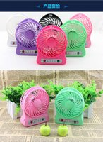 Wholesale mini fan USB battery summer student dormitory outdoor fan is easy to carry