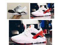 athletic mesh fabric - New Mens shoes Air Huarache sports wear women outdoor womens Huaraches trainers athletic men running sneaker size