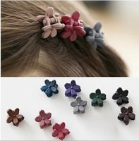 Wholesale Brand New girl s Restore ancient ways small crystal hair clip claw three colors