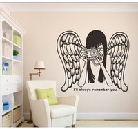 art holdings - Personalize Your Name Holding A Camera To Take Pictures Of Angel Silhouette Pattern Suitable For The Living Room And Bedroom Vinyl Wall Stic