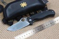 Wholesale C157 Spyderco Lionsteel Folding Knife C157GTI Lionspy Camping Knife G10 Titanium Handle Portable Survival Tactical Knives EDC Tools