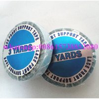 Wholesale double sided adhesive tape for Lace Front Wig Yards Blue Lace Front Support Glue for toupee wig pre tape hair extensions
