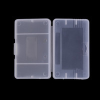 advance plastic case - Clear Plastic Game Cartridge Cases Case Storage Box Protector Holder Dust Cover Replacement Shell For Nintendo Game Boy Advance GameBoy GBA