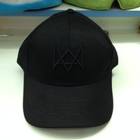 autumn watch - 100pcs Watch Dogs Aiden Pearce Cap Costume Cosplay Watch Dogs Hat High Quality