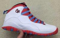 baskeball shoes - 2015 Retro Chicago City Pack Paris Nyc ovo Drake men baskeball shoes Retro X City Pack CHI Chicago Flag mens sneakers
