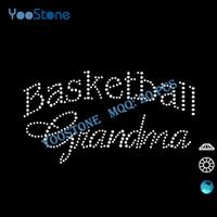 basketball t shirt designs - Popular Basketball Grandma Rhinestone Transfer Designs Hot Fix Motif Rhinestone For Decorate t Shirt